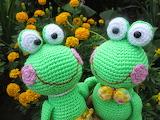 Веселые лягушата