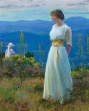 Charles Courtney Curran, Far Away Thoughts, date unknown