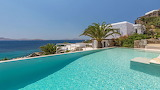 Beautiful white seaview villa and pool, Greek islands