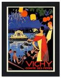 Vintage art deco poster France