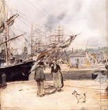 Breton Port - JF Raffaelli