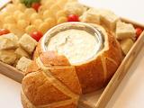 ^ Dip in bread bowl