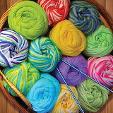 Colorful Yarn @ puzzlewarehouse.com...