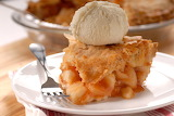 ^ Deep dish apple pie a la mode