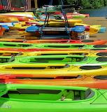 #Colorful Kayaks
