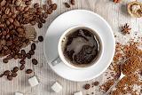 Coffee Wood planks Cup Grain Sugar