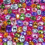 Brightly colored 💎 gemstones!