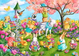 Colours-colorful-Easter-Jigsaw-Puzzles-pinteres