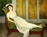 Diego Riviera, Portrait d'Angelina Beloff, 1909