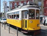 Lisboa, tram, Portugal