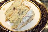^ Italian Cream Cake slice