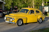 Yellow Volvo PV