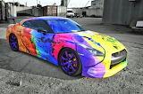 Nissan GTR R35 Art Car