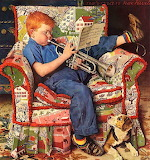 #'Practice' 1950 by Norman Rockwell