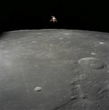 Apollo 12, Lunar Module Intrepid, 11-19-1969