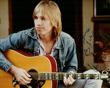 Signed Photo Of Young Tom Petty-Rest In Peace