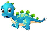 Baby Stegasaurus