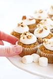 ^ Mini Sweet Potato Cupcakes