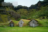 Nordic moss houses in iceland