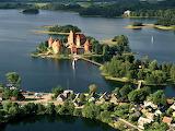 Lithuania Trakai Castle Island