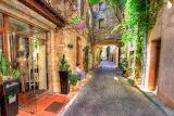 Antibes street, France