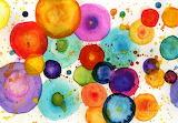 Colorful Bubbles by Anne Clark