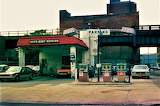 NEW YORK 1970S SERVICE STATION AT TENTH AND TWENTIETH