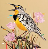 Colorful Bird Painting by Frank Gonzalez
