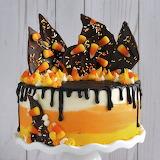 Candy Corn Cake - POTW