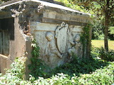 Charleston South Carolina Drayton family tomb in Magnolia Planta