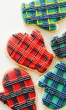 Mitten cookies @ Tastemade