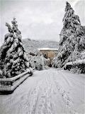 Snow - Castrocielo, Italy