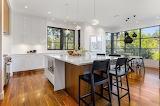 Bright Kitchen with Wood Flooring