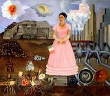Frida Kahlo, Self Portrait on Borderline, 1932