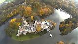 Laxenburg, Aerial view, Austria