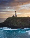 Beacon of hope Kilauea Hawaii