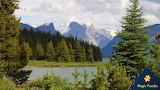 Lake Maline, Jasper National Park, Alberta, Canada by Peter Cous