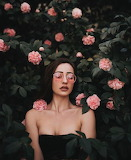 Rose Colored Glasses & Carnations