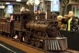 Chocolate train in Brussels