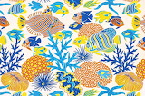 marine fabric print