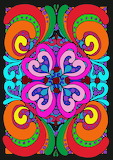 Colorful Floral Abstract