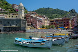 Harbour in Vernazza Italy