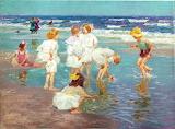 ^ Edward Henry Potthast ~ A Holiday
