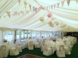Wedding Tent with Balloons