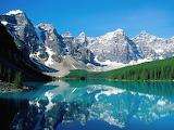 Moraine Lake in Banff National Park. Alberta. Canada