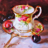Teacup Still Life by Elena Katsyura