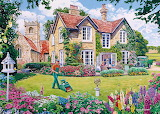 The Vicarage Garden - Trevor Mitchell