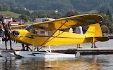 Piper J-3C-65 Cub On Floats