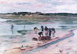 High Tide at Keroman by Henri Moret 1896