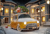 yellow car, gifts